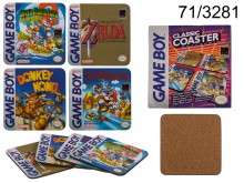 Nintendo glass mats - licensed product
