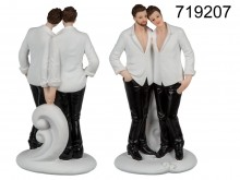 Couple of Men Figurine