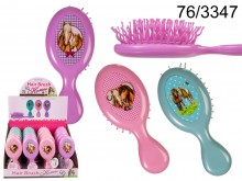 Hairbrush with Horses