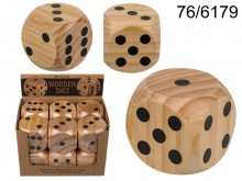 Wooden dice XL