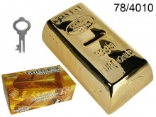 Gold Bar Money Box