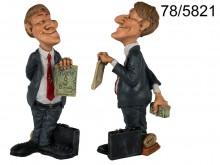 Businessman figurine