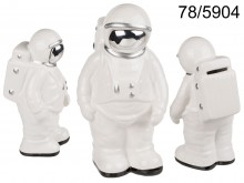 Cosmonaut's ceramic piggy bank