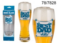 Best Dad Beer Glass