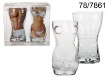 Sexy Beer Glass - Set of 2