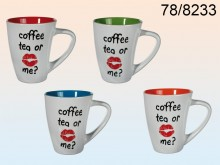 Coffee, Tea or Me Mug - 12 items