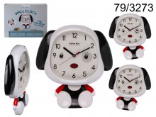 A doggy clock for children - it moves eyes and ...