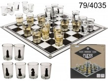 Drinking Glass Game Chess