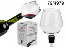 Wine Glass Bottle Cap