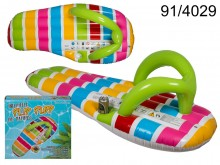 Flip Flop Air Mattress Pool Float