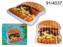 Hamburger Air Mattress Pool Float