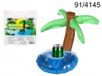 Inflatable Beverage Can Holder - Palm Tree