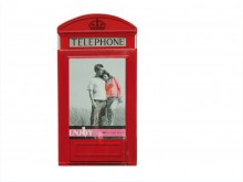 British Telephone Booth Picture Frame