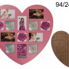Large Wall Heart-Shaped Picture Frame