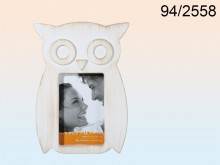 Antique Owl Picture Frame