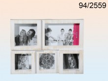 Antique Style Picture Frame for 5 Pictures