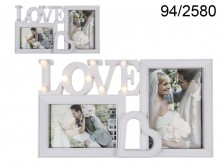 Glamour Love Picture Frame with LEDs