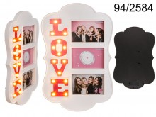 10 x 15 Love frame with LED lights