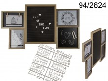 Memo Boards and Picture Frames