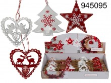 Christmas Metal Deco Hanger