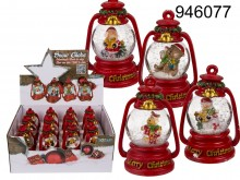 Christmas Snow Globe - Merry Christmas Oil Lamp