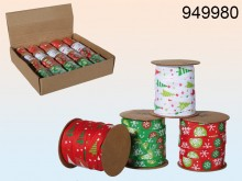 Fabric Ribbon - Christmas Assortment