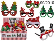 Glasses with Christmas and winter motifs