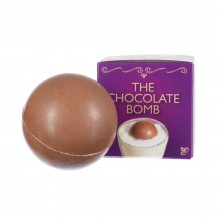 A chocolate bomb with a surprise